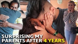 Surprising My Parents in India after 4 years with my American Girlfriend