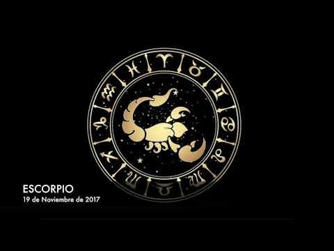 Horóscopo Diario - Escorpio - 19 de Noviembre de 2017