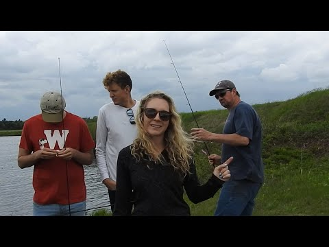 Cranberry Marsh Fishing, Unexpected Big Fish!