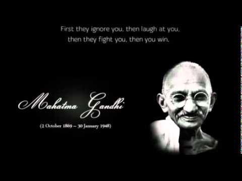 Mahatma Gandhi Kavitha Youtube