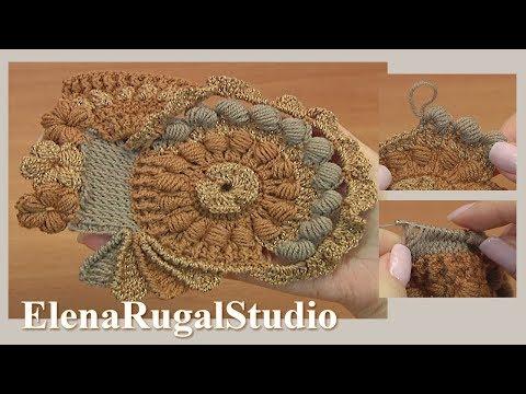 Scrumble Freeform Crochet Tutorial 6 de crochet de forma libre de Scrumble