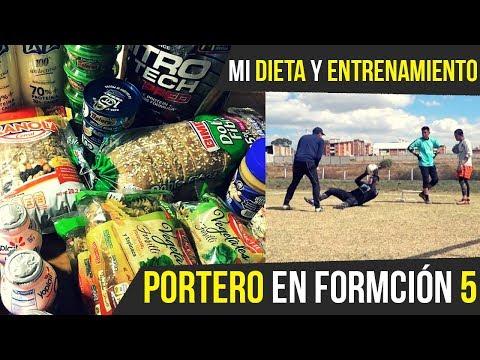 UN DIA EN MI DIETA Y ENTRENAMIENTO - PORTERO EN FORMACION 5
