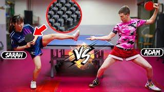 Адам Бобров против длинных шипов Сары из Тайваня