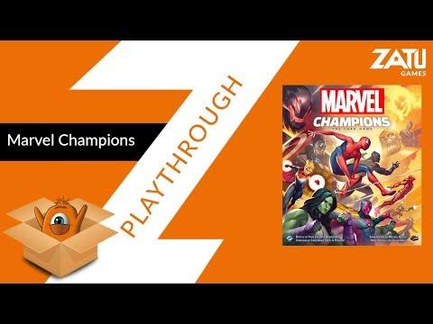 Marvel Champions Solo Playthrough