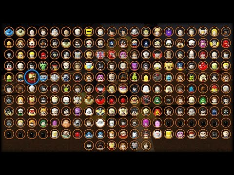 LEGO MARVEL AVENGERS - ALL CHARACTERS UNLOCKED