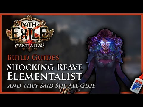 Path of Exile [3.3]: Shocking Reave & Blade Flurry Elementalist - Build Guide