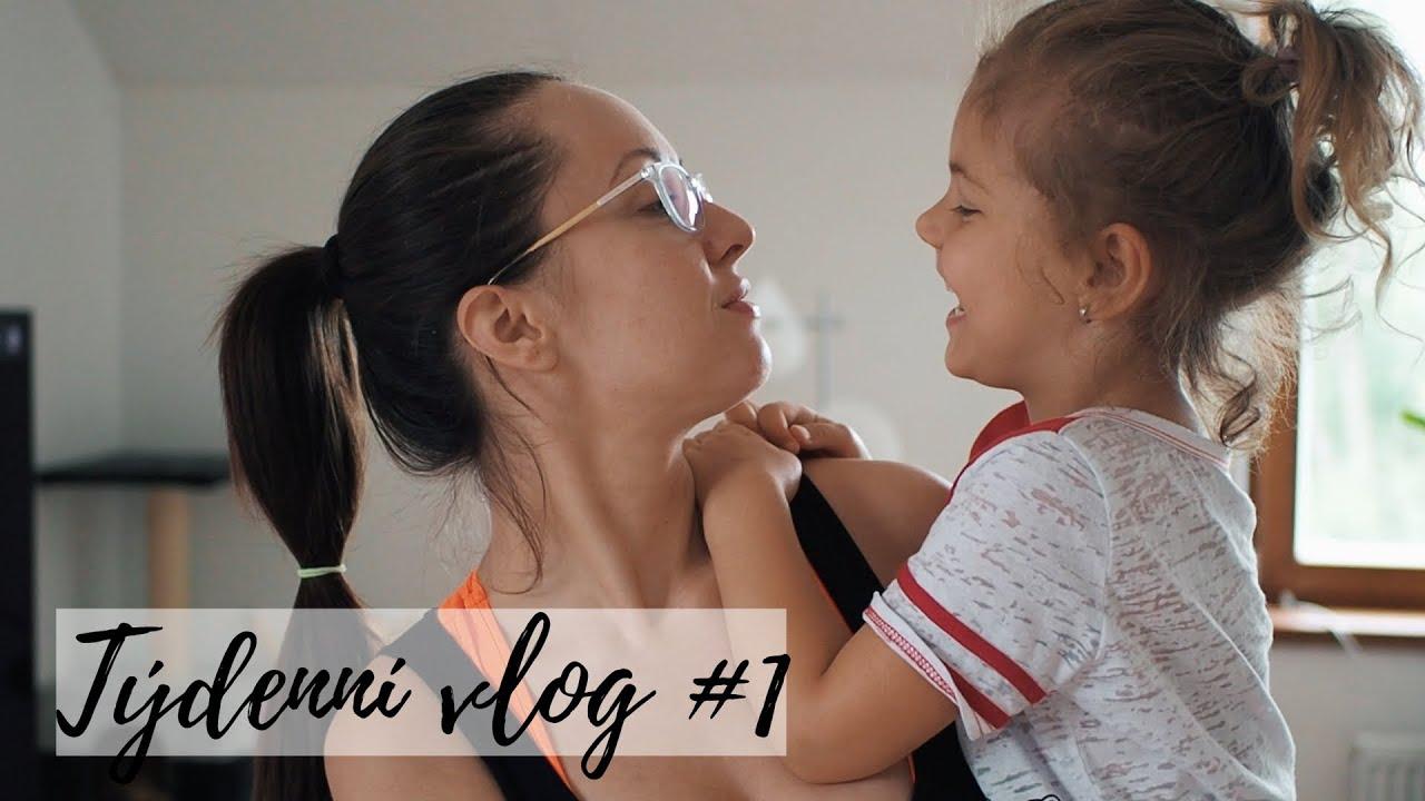Týdenní vlog #1 - Kurz líčení, Verči nové šaty, zbytečné natáčení, nové nehty...   TMT