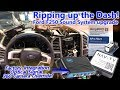 Ripping up the Dash! Ford F250 System Integration + Optical Output, NAV-TV 360 Camera Override