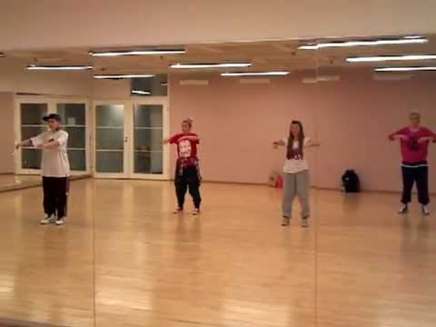 Jak-Hamah, Advanced Hip Hop(popping in this class though) footlight