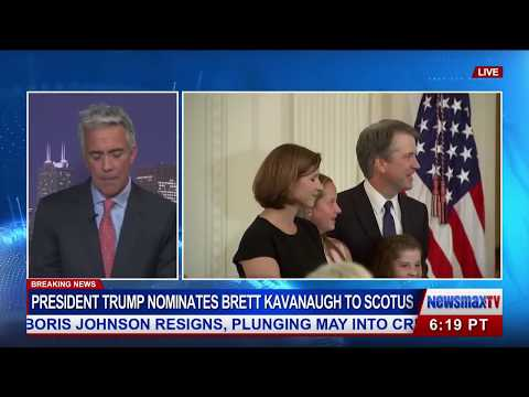 Bill O'Reilly and Joe Walsh React to the Nomination of Judge Kavanaugh