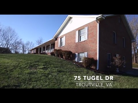 75 Tugel Dr - Troutville - #1 Selling Real Estate Team in Central and SW VA