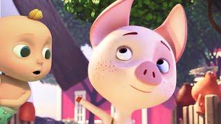Porquinho Rosa - Músicas Infantis LooLoo Kids Português