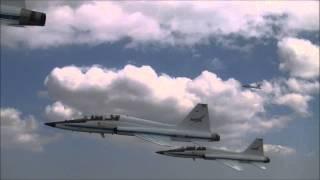 NASA T38 Fly Over