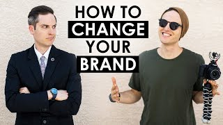 How to Rebrand Yourself on Social Media and Change Your Niche — 5 Tips