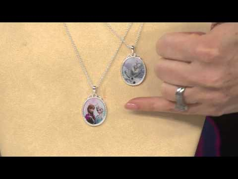 Disney's Frozen Necklace with Music Box with Albany Irvin