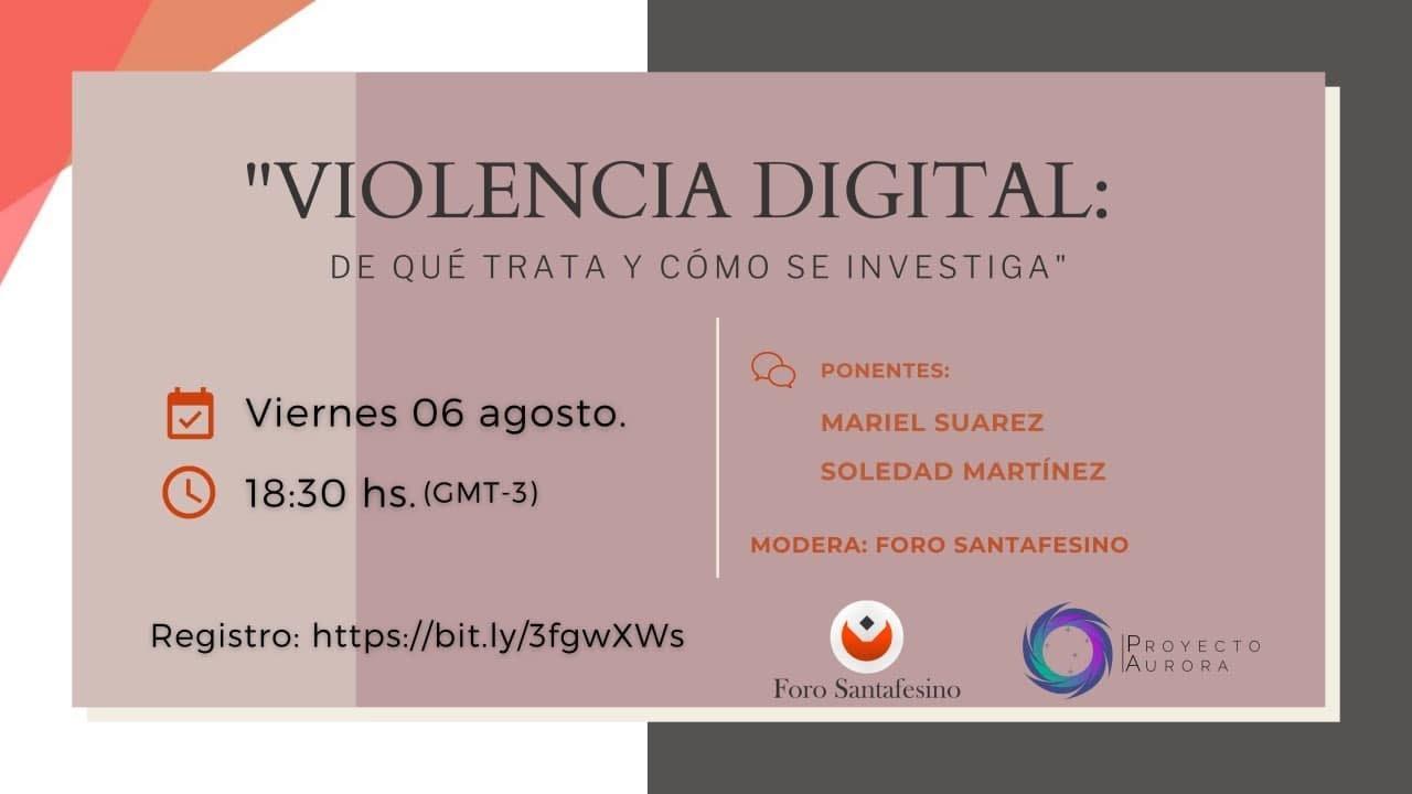 VIOLENCIA DIGITAL: De qué trata y como se Investiga