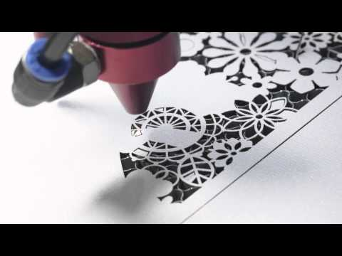 100 Watt Laser Cutting Paper Wedding Invitation