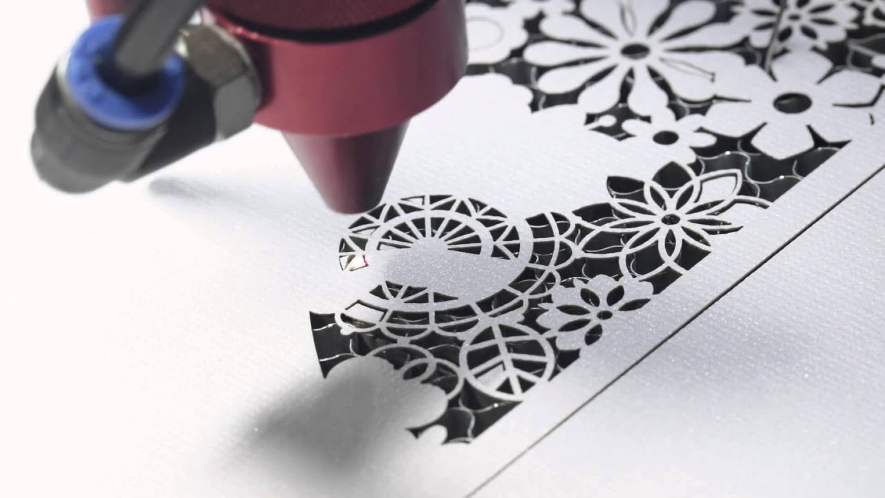 100 Watt Laser Cutter Makes Paper Wedding Invitation - YouTube for Laser Cut Designs Paper  165jwn