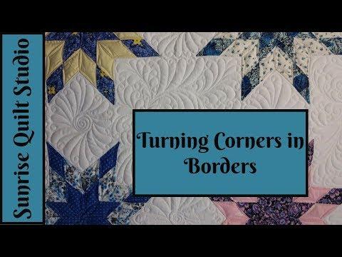 Turning Corners in Borders