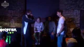 S-DOPE vs FRENZY | Top 16 | Greek Beatbox Championship 2014