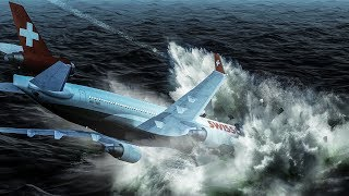 Crashing Into the Atlantic Ocean at 350 mph | Fire in the Air | Swissair Flight 111