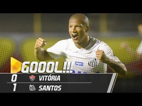 Vitória 0 x 1 Santos | GOL | Brasileirão (05/10/18)