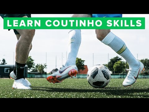 LEARN 5 COOL COUTINHO FOOTBALL SKILLS | How to play like Philippe Coutinho