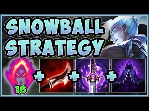 UNBEATABLE SNOWBALL STRAT! HITMAN KAYN IS 100% ABSURD! KAYN S9 JUNGLE GAMEPLAY! - League of Legends