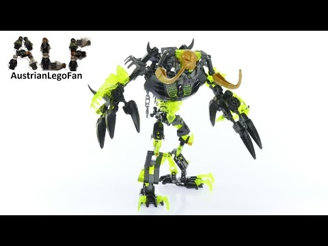 Lego Bionicle 71316 Umarak the Destroyer - Lego Speed Build Review