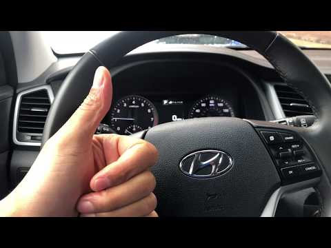 Hyundai Tucson - How To Brighten And Dim The Instrument Panel