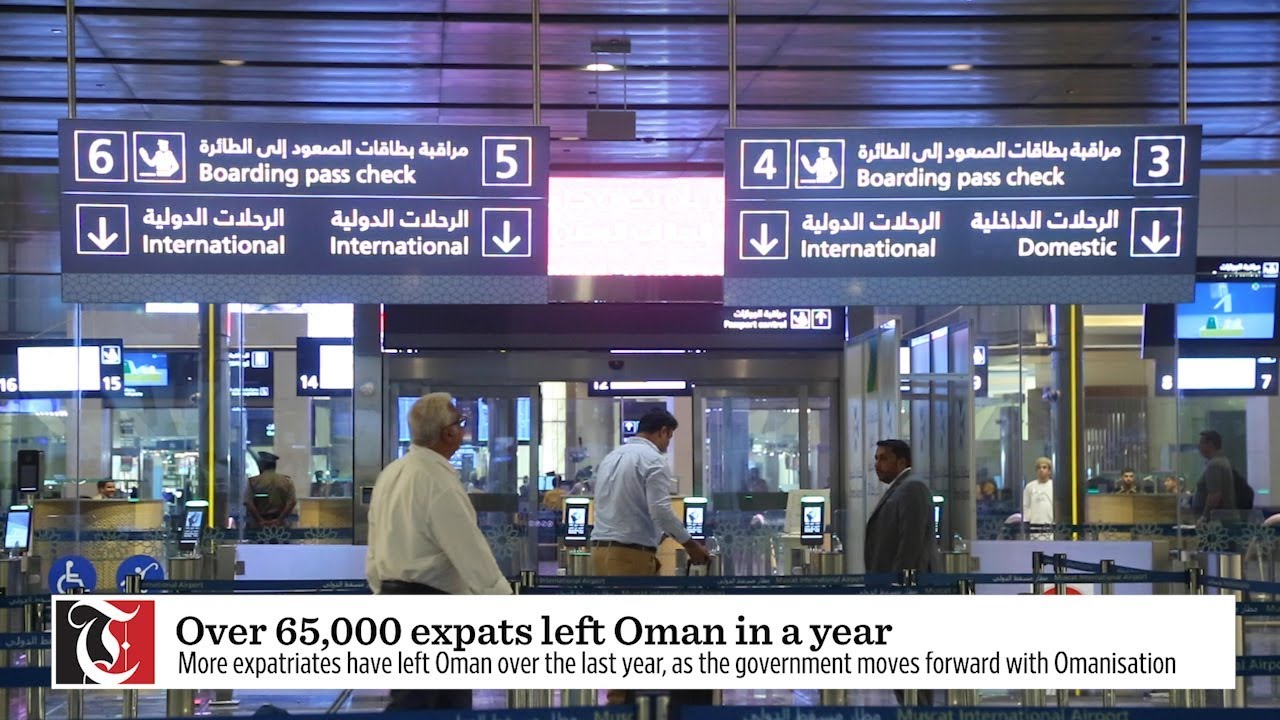 65,000 expats left Oman in a year