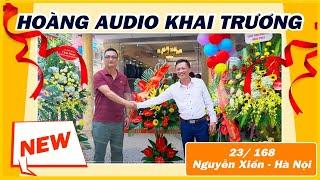 Dàn Âm Thanh Rực Rỡ Hoa Đồng Tiền Trong Tháng Khai Trương Hoàng Audio tại Nguyễn Xiển