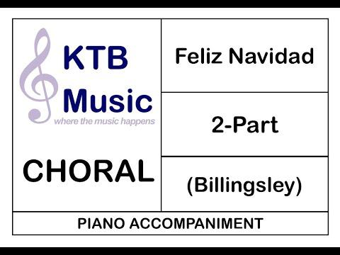 Feliz Navidad [Piano Only]