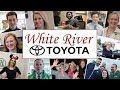 Working at  White River Toyota