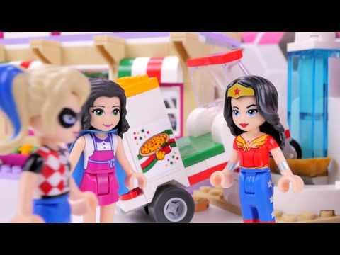 Atak na superbohaterki! - Bajka po polsku z klockami Lego Friends Super Hero Girls