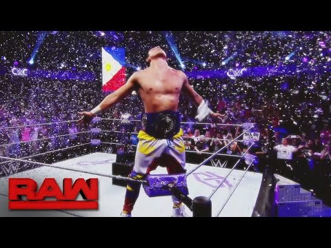 Thumbnail: T.J. Perkins becomes Raw's first WWE Cruiserweight Champion: Raw, Sept. 19, 2016