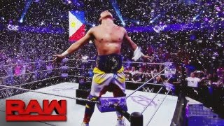 T.J. Perkins becomes Raw's first WWE Cruiserweight Champion: Raw, Sept. 19, 2016