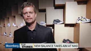 New Balance Takes Aim at Nike