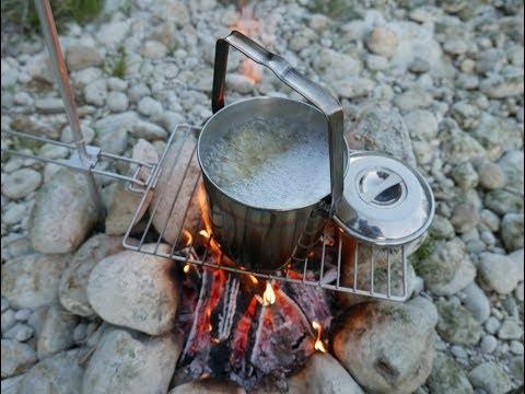 Lagerfeuer, Grünkohl + Nudeln & 1 Hufeisen