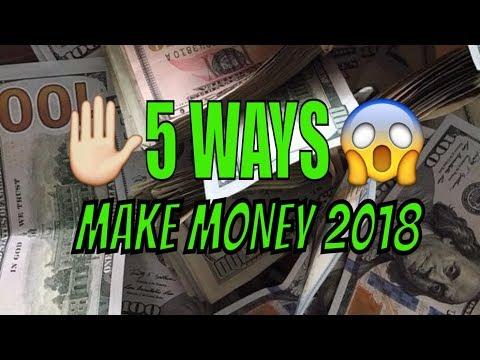 How To Make Money Online 💯5 Easy ways | Make Money Online  2018📣
