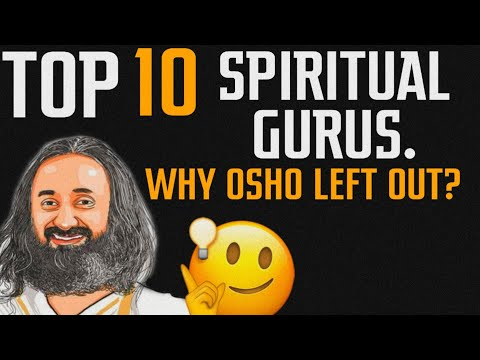 Top 10 spiritual gurus || Why Osho & others left out || Ashish Shukla from DEEP KNOWLEDGE