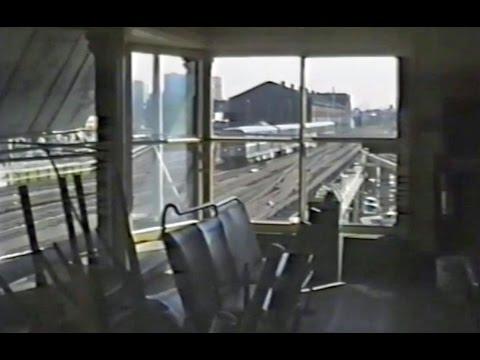 CTA trains in the Loop & Northside - September 21 1991
