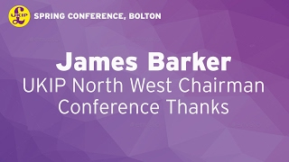 James Barker in Bolton