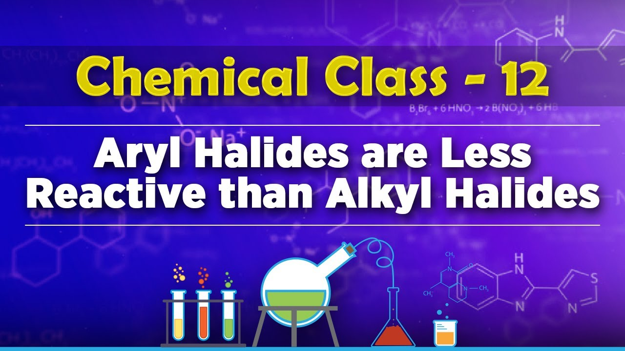 Why Aryl Halides Are Less Reactive Than Alkyl Halides