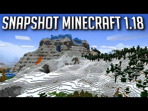 Minecraft Snapshot 1.18 Expérimental 1 - Enfin les Montagnes !