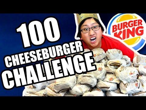 DRUNK 100 Cheeseburger Challenge