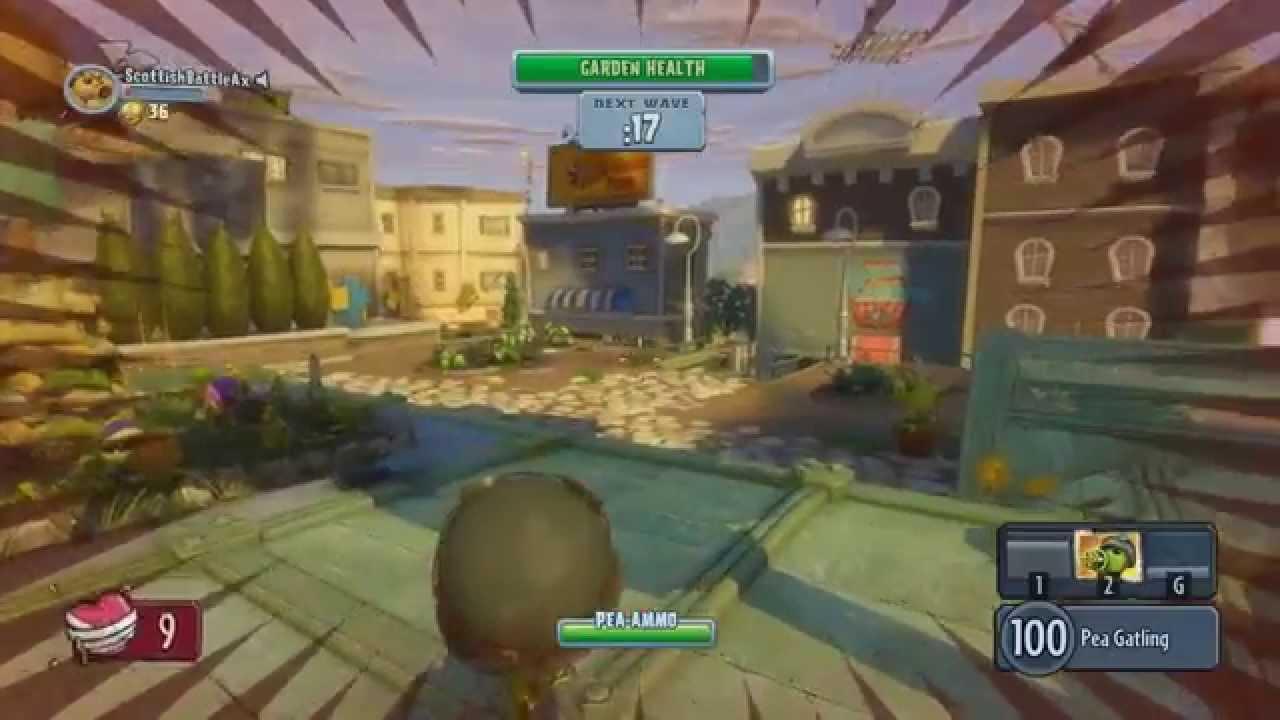 Plants vs Zombies Garden Warfare PC Garden Ops Max Settings \
