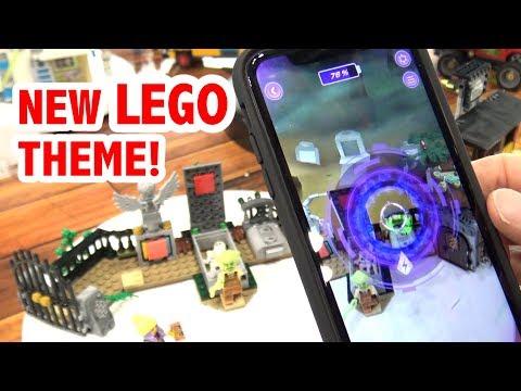LEGO Hidden Side Sets + App Demo | New York Toy Fair 2019