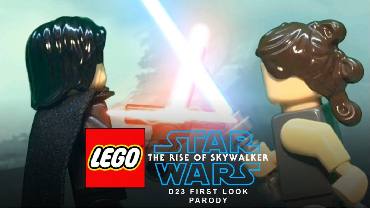 Lego Star Wars The Rise Of Skywalker D23 Trailer Parody Youtube