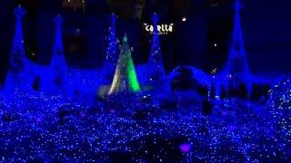 Япония.1)Рождественская музыкальная иллюминация в Каретта Сиодоме/XMAS Caretta Shiodome.Tokyo(Рождественская иллюминация и феерическое световое музыкальное шоу - «Золушка» (3D Illumination Ganyon d'Azur